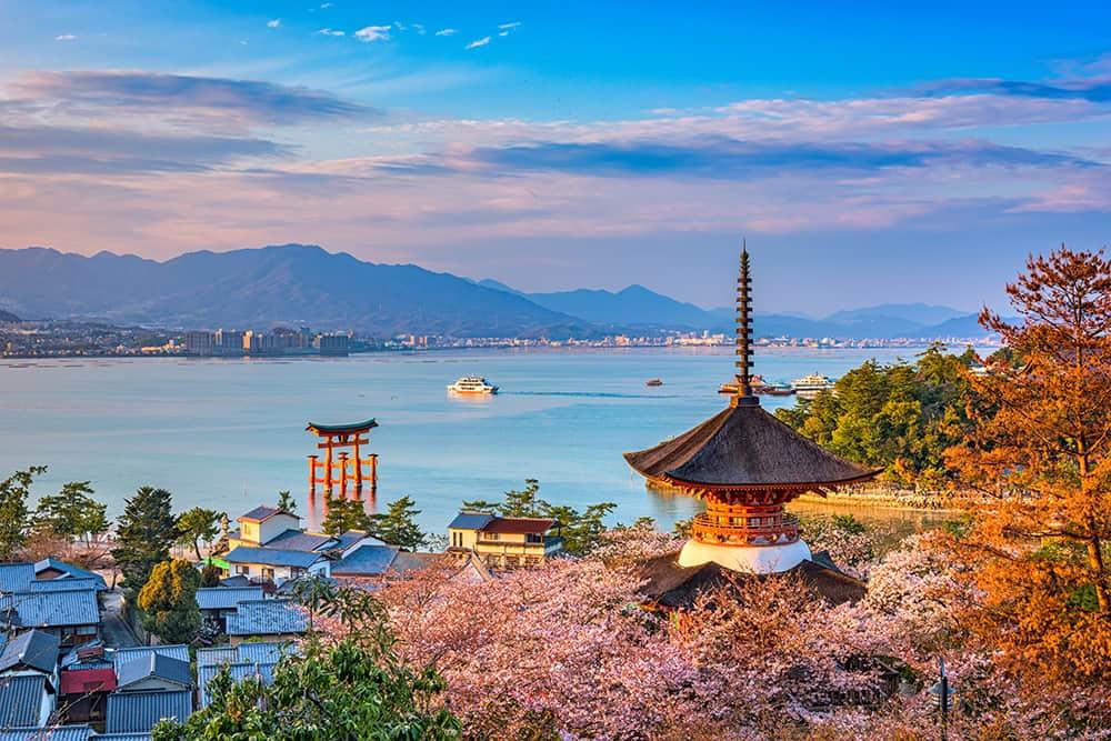As belezas do Japão