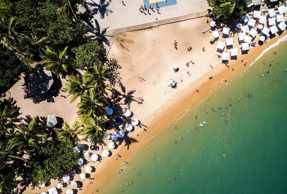 Conheça das melhores praias da Bahia