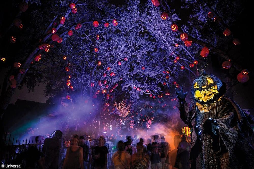 O Dia das Bruxas nos melhores parques de diversão do mundo